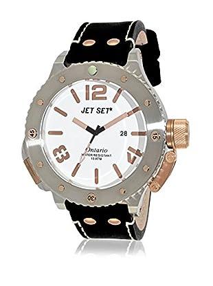 JetSet Uhr mit japanischem Quarzuhrwerk Man 52 mm