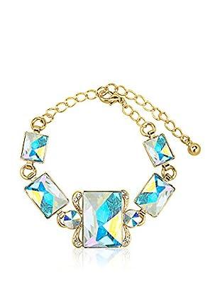 Swarovski Elements by Philippa Gold Armband 5 Squares Bracelet