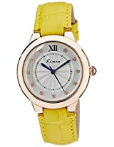 Kimio Analog Silver Dial Women's Watch - KW526M-RG0110