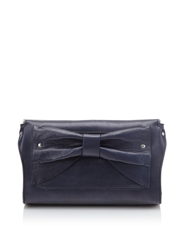 Nanette Lepore Women's Bow Clutch (Night Blue)