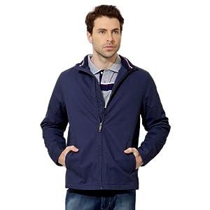 Allen Solly Zip Front Cotton Jacket