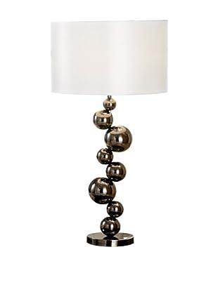 Artistic Lighting Cleona 1-Light Table Lamp, Black/Chrome