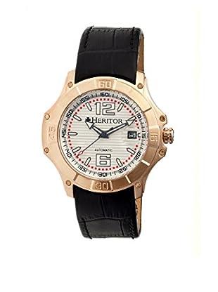 Heritor Automatic Uhr Norton Herhr3007 schwarz 48  mm