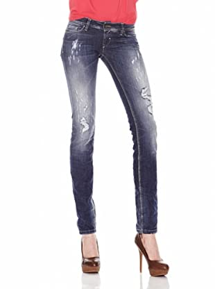Salsa Jeans Wonder Push Up Destroyed (Azul)