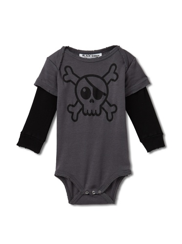 Black Sheep by NUNUNU Pirate Bodysuit (Dark Grey)