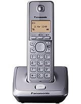 Panasonic KX-TG2711BX Cordless Phone (Silver)