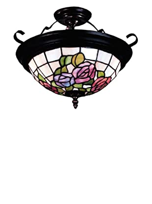 Dale Tiffany Rose Semi Flush Fixture