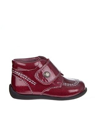 Pablosky Zapatos Abotinado Básico Botón Serraje (burdeos)