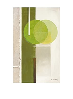 PlatinArt Cuadro Green Reflections 50 x 80