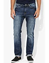 Blue Slim Fit Jeans Allen Solly