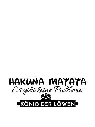 Ambiance Sticker Wandtattoo German Text Hakuna Matata König Der Löwen
