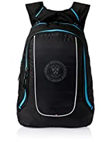 Tommy Hilfiger Turquoise and Blue Casual Backpack (TH/ADD08 PLS)