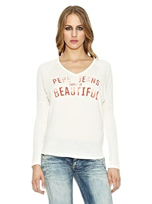 Pepe Jeans London Camiseta Gloria (Crudo)