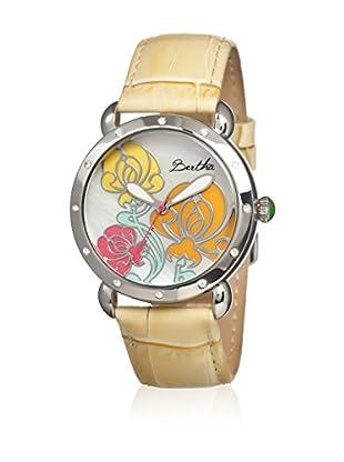 Bertha Uhr mit Japanischem Quarzuhrwerk Josephine creme 41 mm