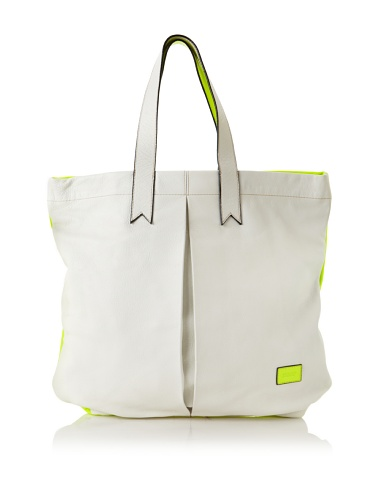 Meredith Wendell Women's Business + Party Mullet Tote (Neon Yellow)