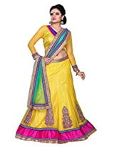 Surupta Cute Yellow Wedding Party Wear Lehenga Choli