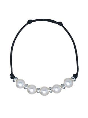 Le Perla di Emi Kaway Pulsera Genevra Plata Perla 8.50-9 mm