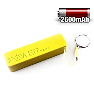 Electron Portable Power Bank 2600 mAh for Mobile Phones, Tablets, Mp3, Mp4 Players