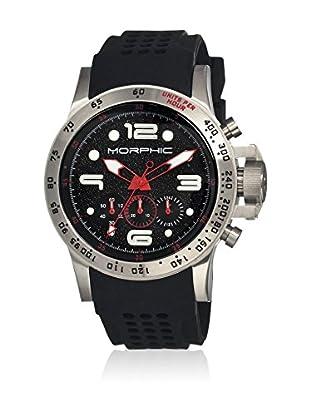Morphic Reloj con movimiento cuarzo japonés Mph2301 Negro 45  mm