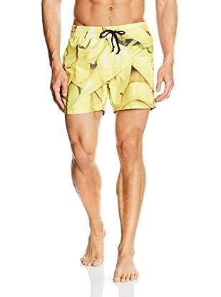 Mr. GUGU & Miss GO Short de Baño Bananas