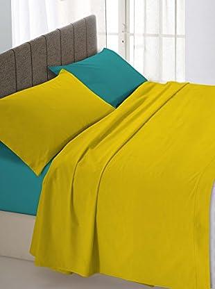 Italian Bed Linen Betttuch und Kissenbezug