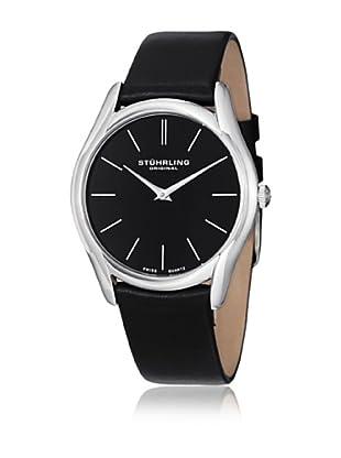 Stührling Uhr mit Schweizer Quarzuhrwerk Ascot Classic schwarz 40 mm