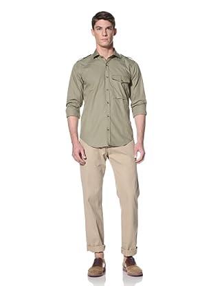 Simon Spurr Men's Military Shirt (Military Green)