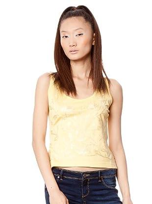 Custo Camiseta (Amarillo Claro)