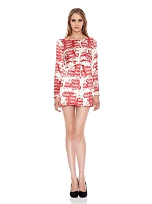 Pepe Jeans London Vestido Greene (Rojo)