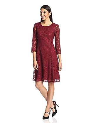 Chetta B Women's A-Line Lace Dress