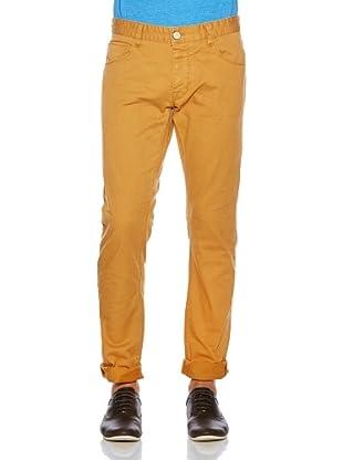 Solid! Pantalón Casual (Mostaza)