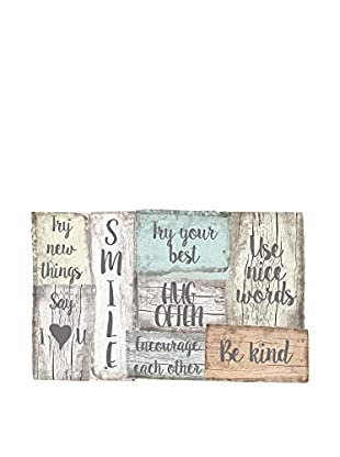 Little Nice Things Wandbild Rules Smile