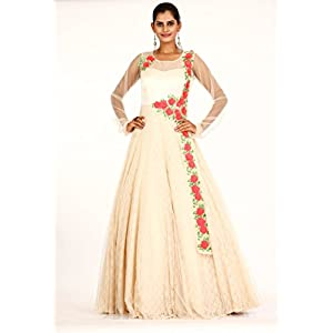 Bawree Fashions Evening Gown - Beige