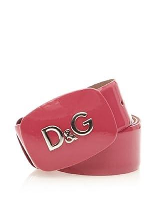 D&G Cinturón Charol (Rosa)