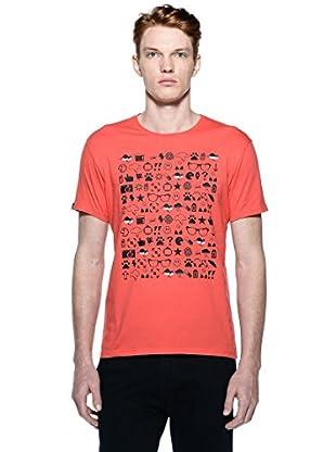 Hot Buttered Camiseta Adrina (Rojo)