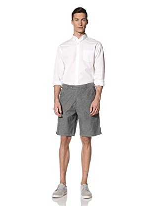 White Picket Fences Men's Holt Chambray Shorts (Chambray)