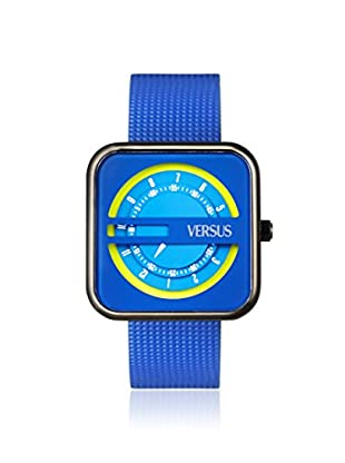 Versus by Versace Women's SGH030013 Kyoto Blue Leather Watch