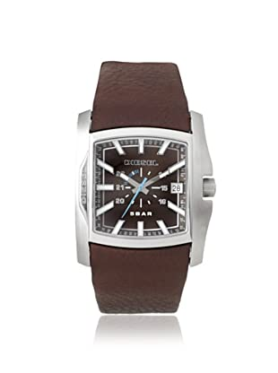 Diesel Men's DZ1179 Brown Stainless Steel/Leather Watch