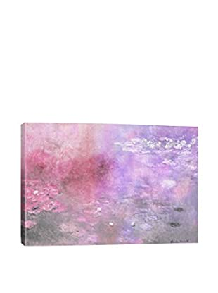 Waterlilies V Gallery Wrapped Canvas Print