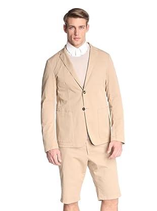 Jil Sander Men's Auroroa Deconstructed Single Jacket (Clay)