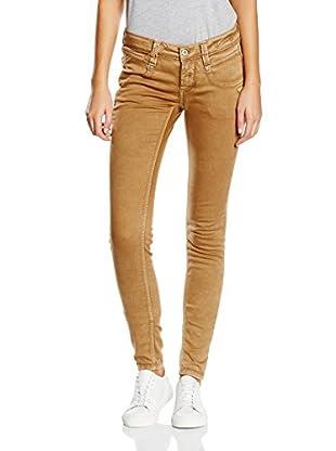Gang Damen Skinny Jeanshose NENA - com cotton, Grau (Grey-Magn-bijou 6956), Gr. W27 (Herstellergrö