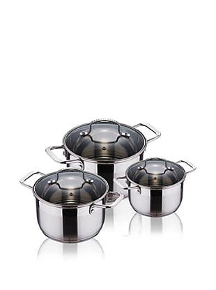 Blaumann Batería De Cocina De 6 Pzs Con Tapadera