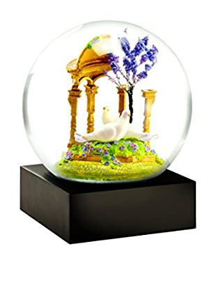 CoolSnowGlobes Doves Snow Globe