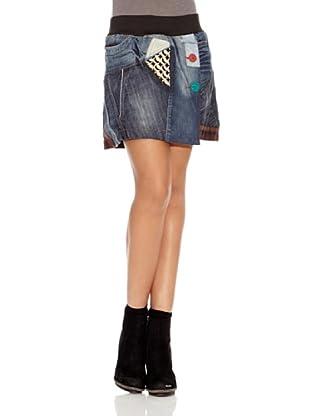 Desigual Falda Five (Jeans Vaquero)