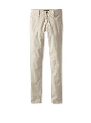 James Jeans Women's Skinny Corduroy Pant (Cream)