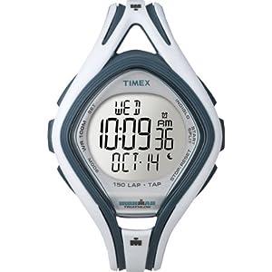 【クリックで詳細表示】[タイメックス]TIMEX アイアンマン スリーク 150ラップ タップスクリーン ミッドサイズ ホワイト T5K505 【正規輸入品】