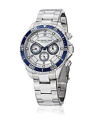 Stührling Original Uhr mit schweizer Quarzuhrwerk Man Aquadiver 643 643.02 Silber