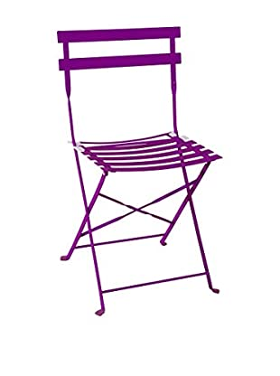Contemporary Home Set Silla Plegable 4 Uds. Vieste Morado