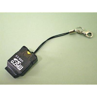 内蔵式 MicroSD/microSDHC用カードリーダー(取り外し用爪付きモデル) Donyaダイレクト DN-CR266B