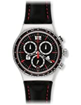 Swatch Irony Analog Black Dial Men's Watch - YVS404